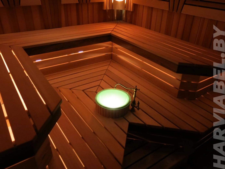 Кедровая сауна с электрокаменкой